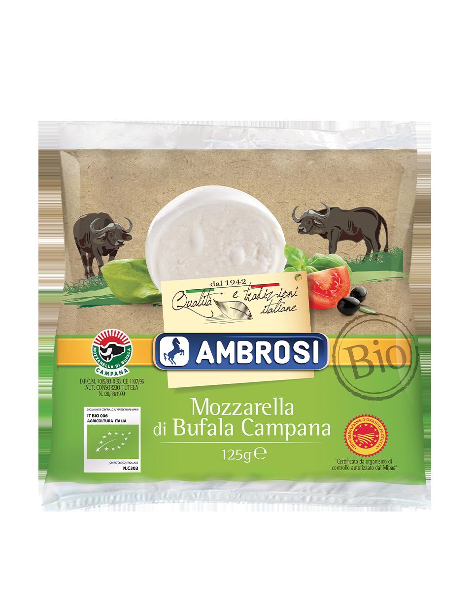 Mozzarella di Bufala Campana Bio