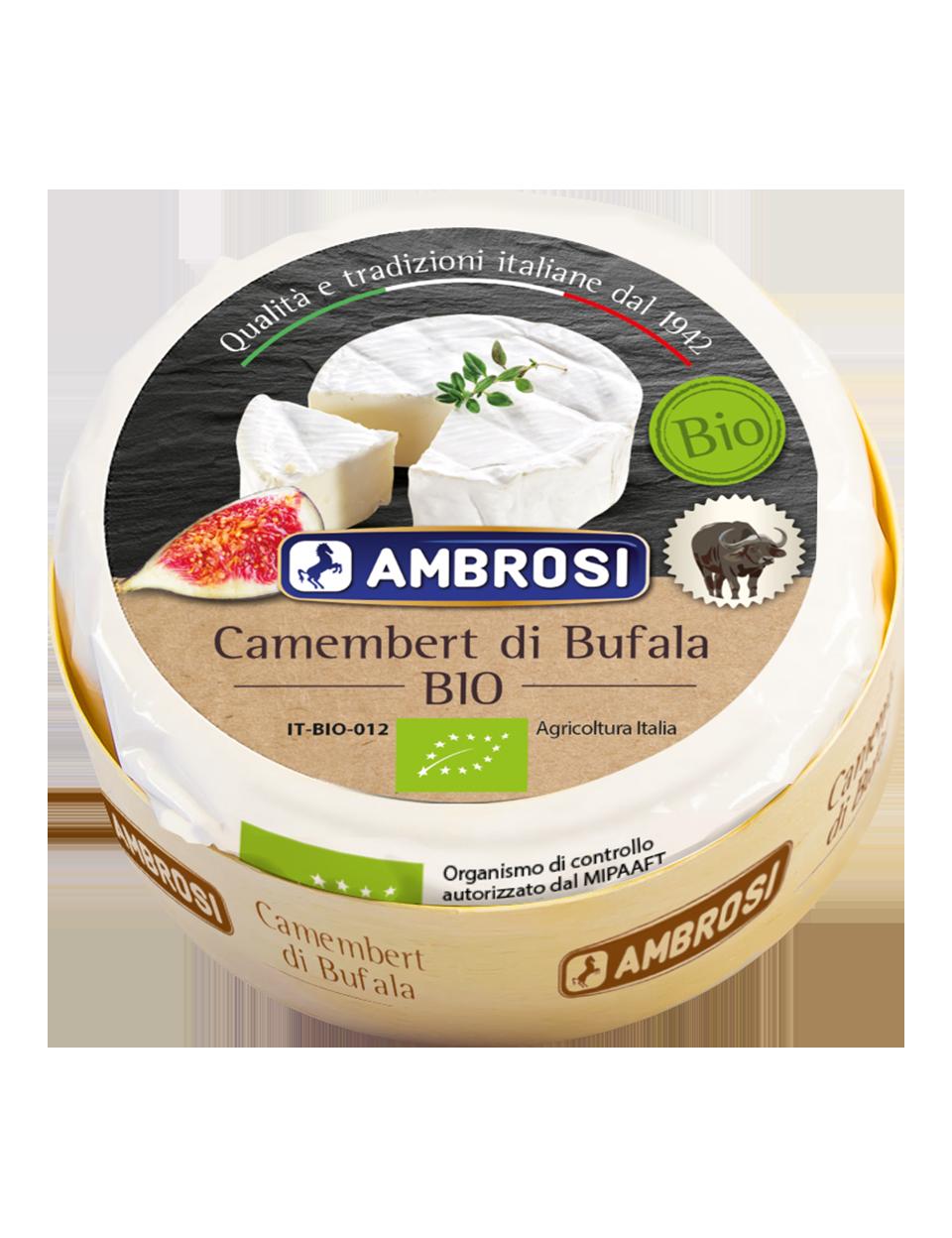 Buffalo's milk camembert Bio